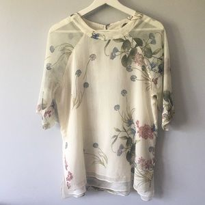 River Island Floral Top